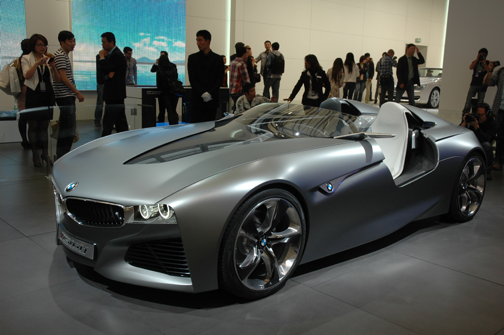 Autoschau Shanghai: BMW-Konzeptfahrzeug.