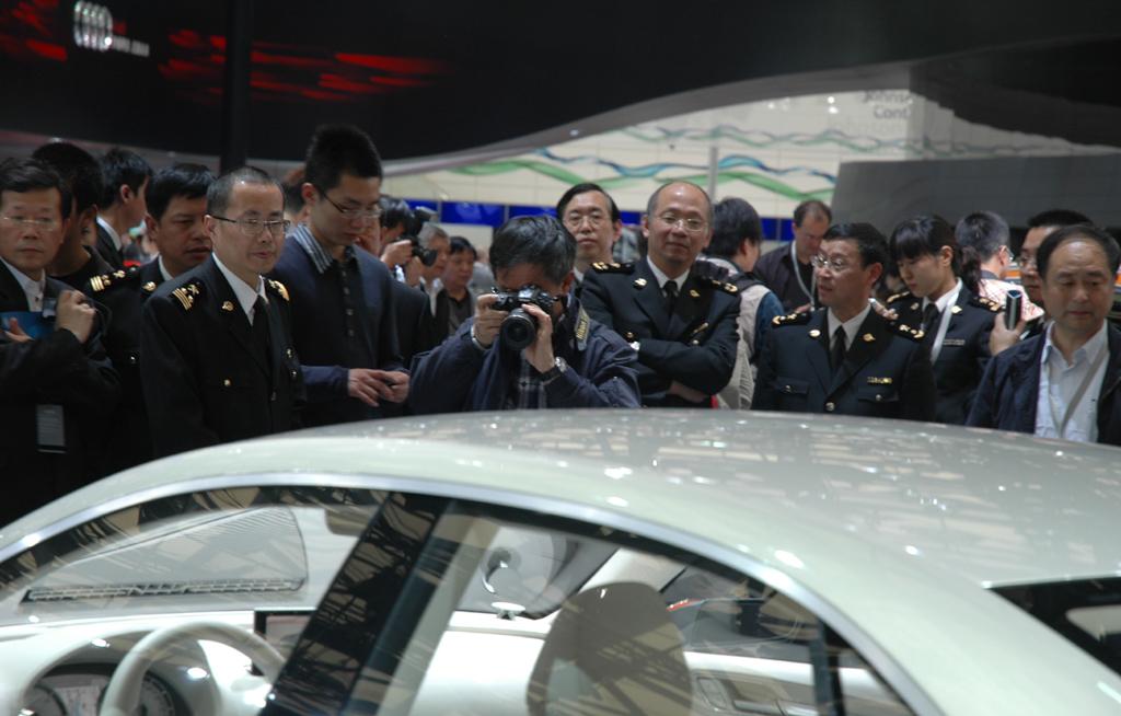 Autoschau Shanghai: Das Interesse an Neuheiten ist in China groß.