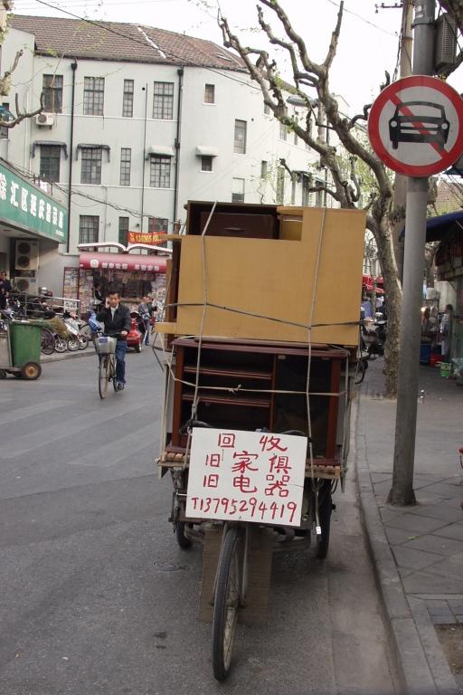 Beliebtestes Einsatzgebiet für Fahrrad-Händler sind die autofreien Altstadtgassen.