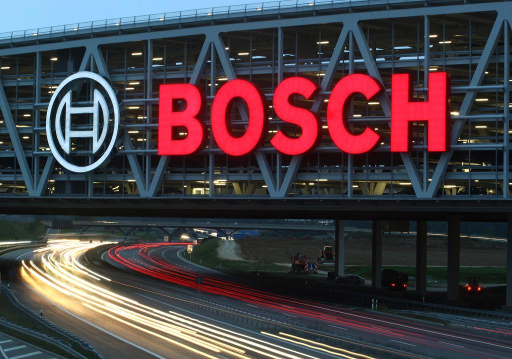 Bosch gut ins neue Geschäftsjahr gestartet
