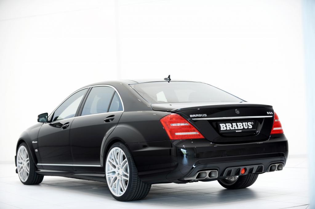 Brabus bietet PowerXtra CGI Leistungssteigerungen für Mercedes-Benz V8 Biturbo Triebwerke