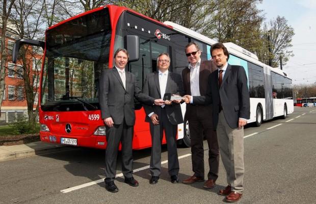 Bremen bekommt zwei Mercedes-Benz Citaro G Blue Tec Hybrid