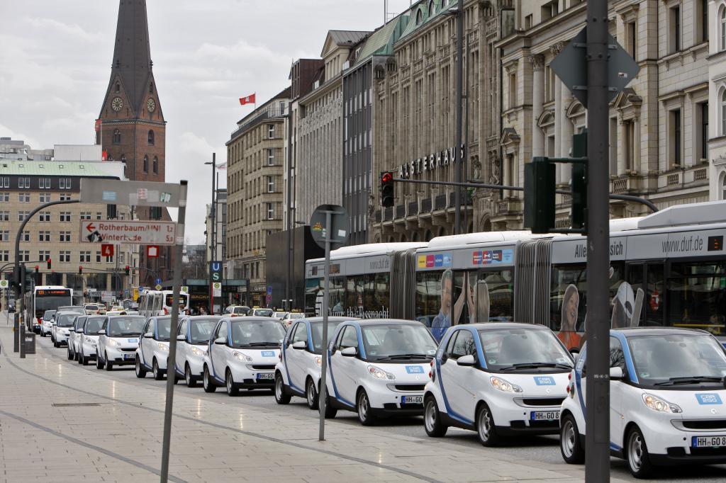 Car2go in Hamburg.