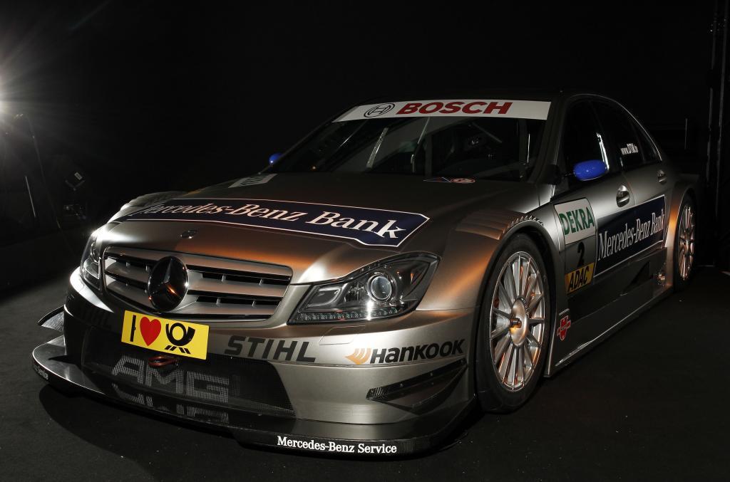 DTM-Mannschaft von Mercedes-Benz ist komplett