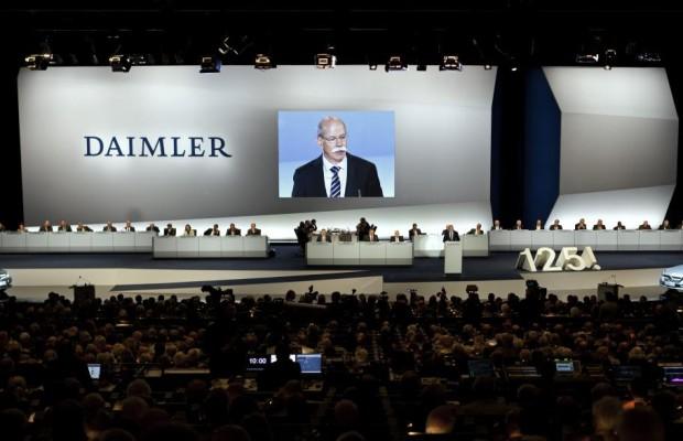 Daimler beschließt Dividende von 1,85 Euro je Aktie