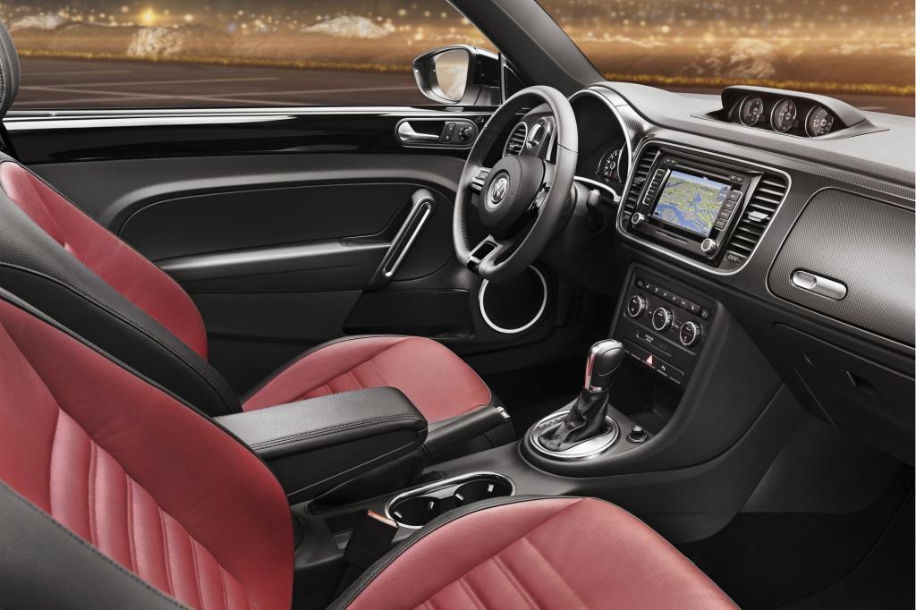 Das Cockpit orientiert sich an die aktuelle VW-Flotte