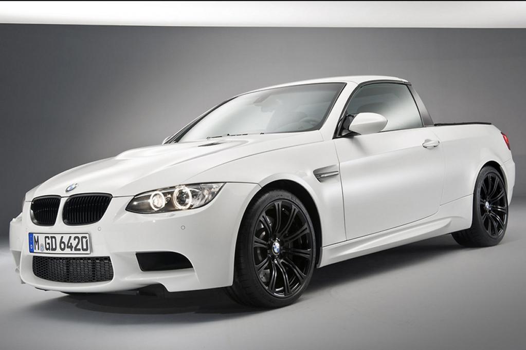 Das neueste Exemplar aus dem Hause der BMW M GmbH: Der M3 Pick-up.