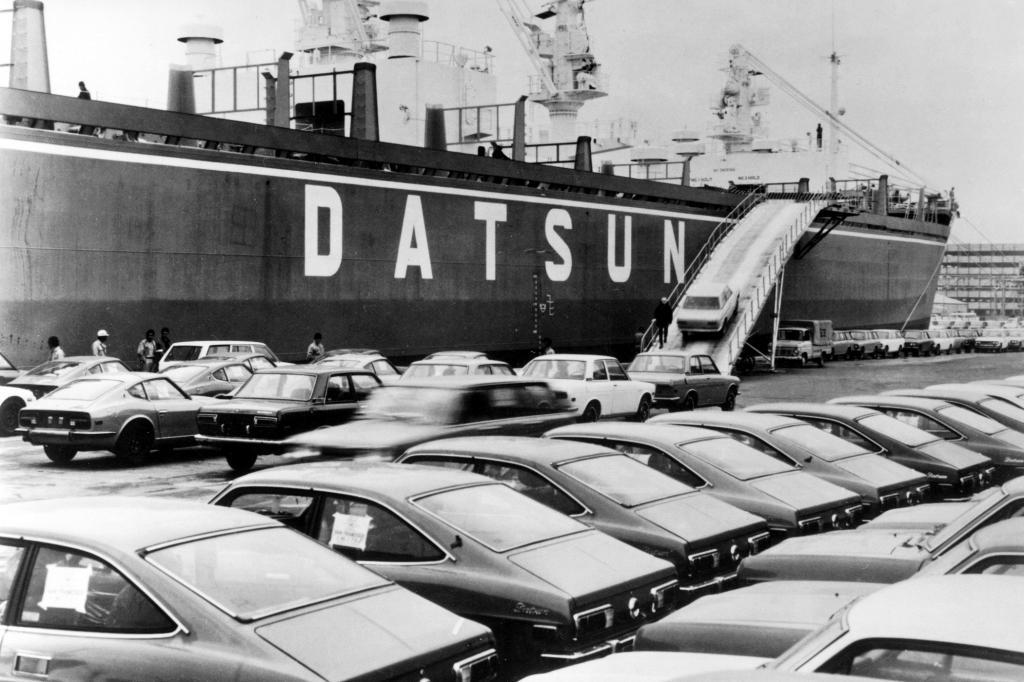 Datsun-Verschiffung 1972