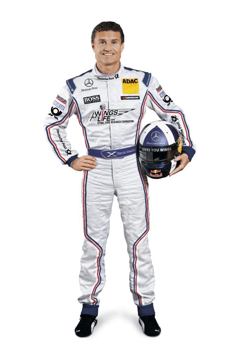 David Coulthard.