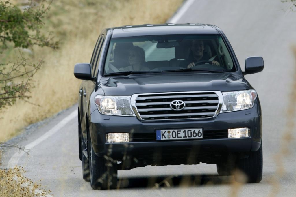 Den Toyota Land Cruiser V8 gibt es nun in einer Geburtstags-Edition.