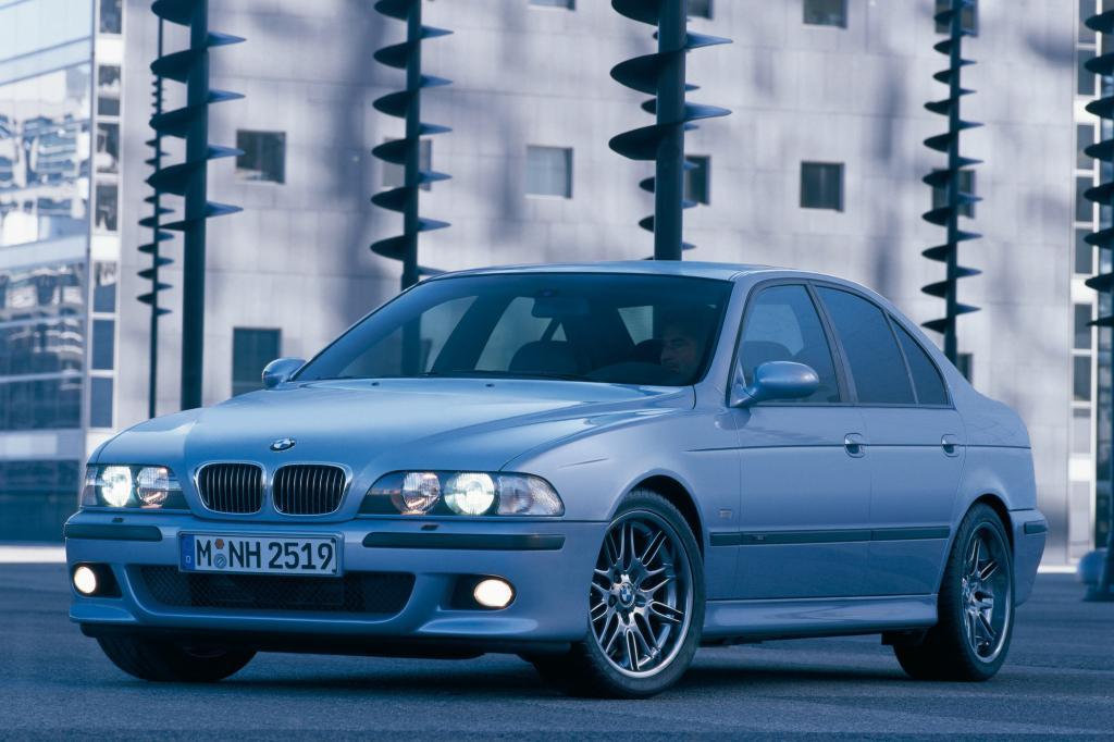 Der E39 wurde von 1995 bis 2004