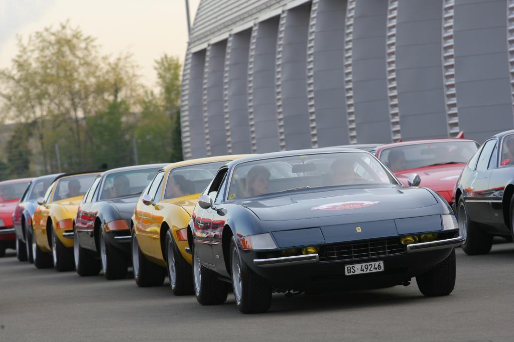 Der Ferrari Daytona gilt heute als Stilikone