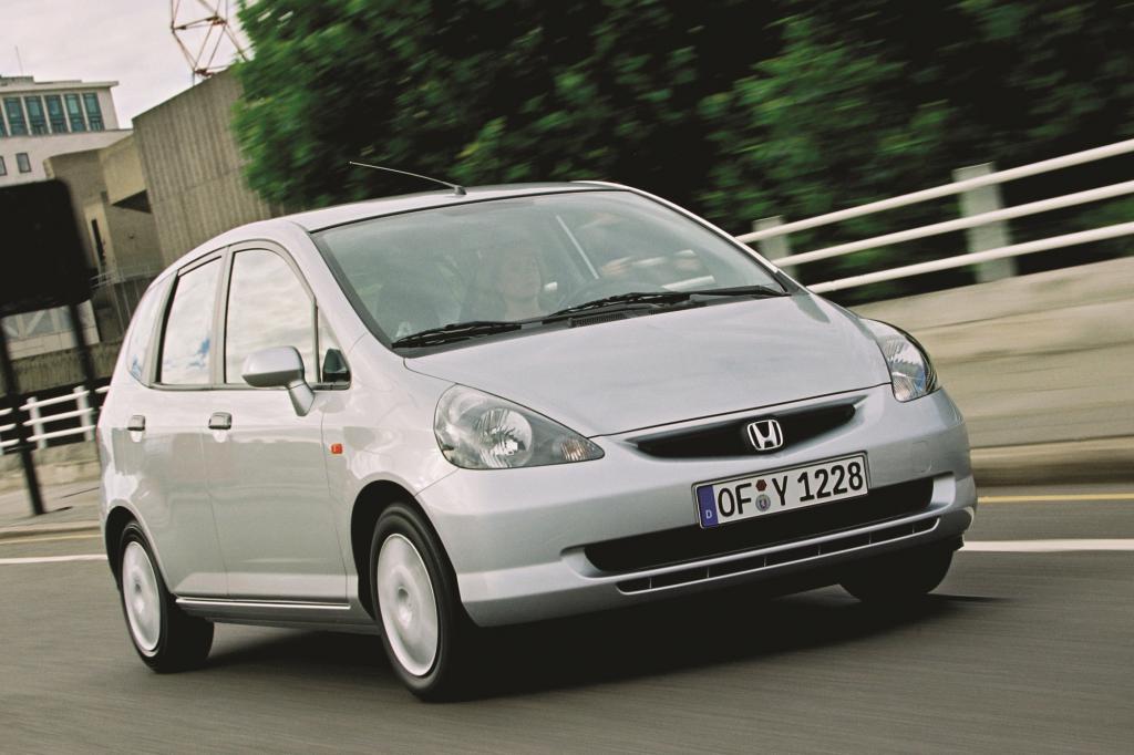 Der Honda Jazz ist eine sichere Wahl für Gebrauchtwagenkäufer