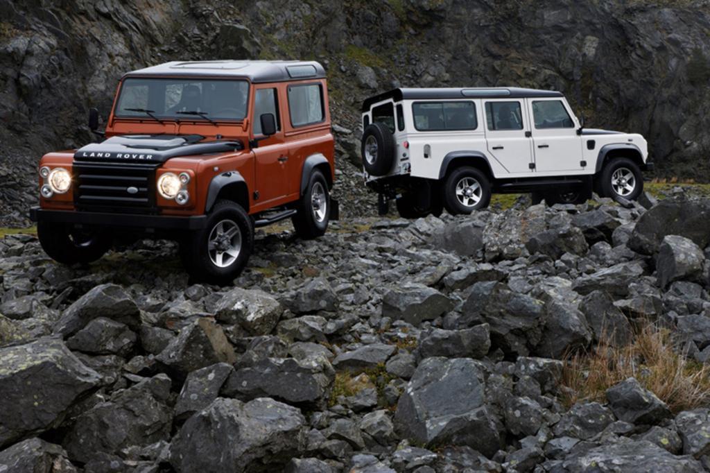 Der Land Rover Defender wird seit 1948 gebaut