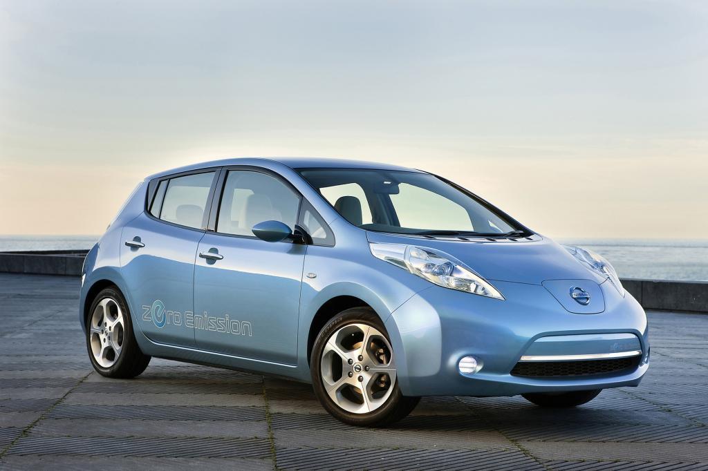 Der Nissan Leaf hat sich im Crahstest wacker geschlagen
