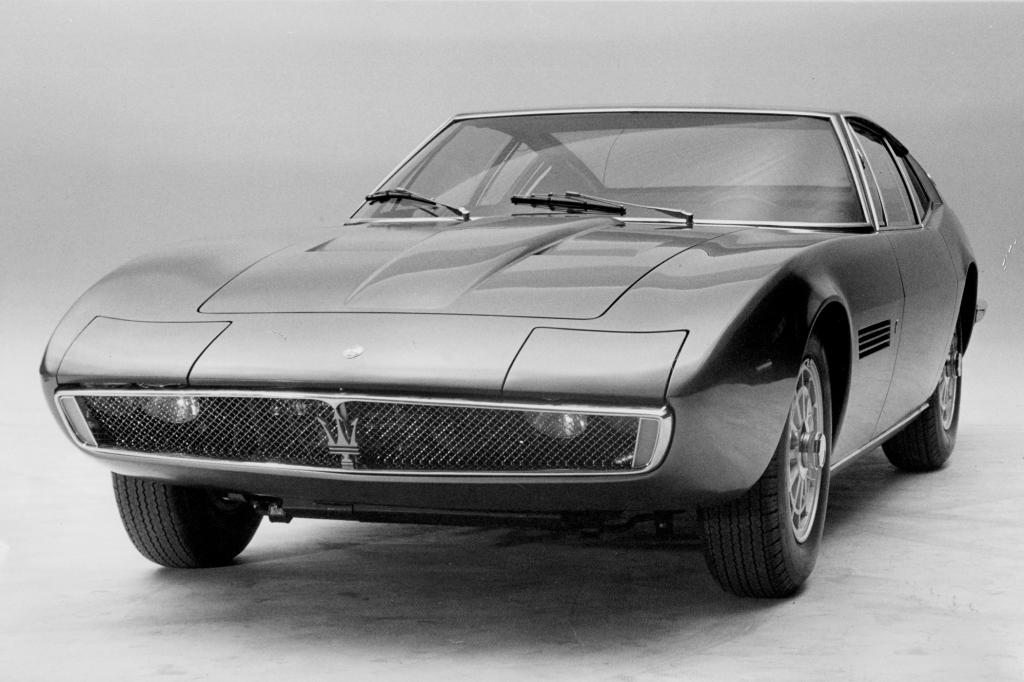 Der Prototyp des Maserati Ghibli