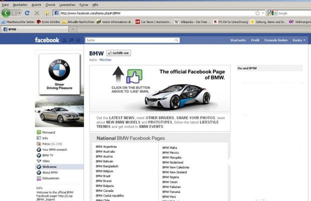 Deutsche Autos haben im Internet viele Fans