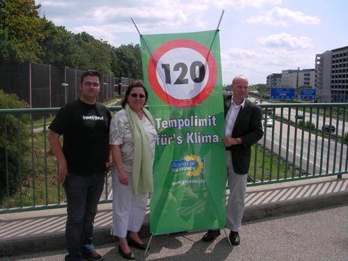 Die Grünen setzen sich für Tempolimit ein, Foto: Grüne BW
