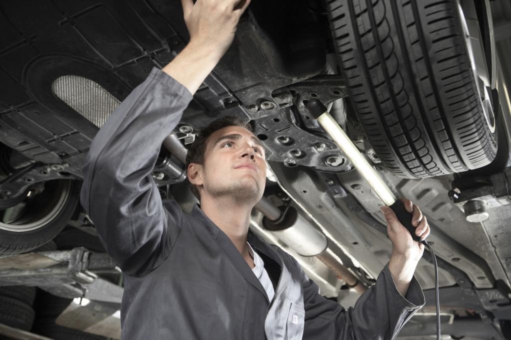 Do-it-yourself-Reparaturen - Finger weg von der Bremse
