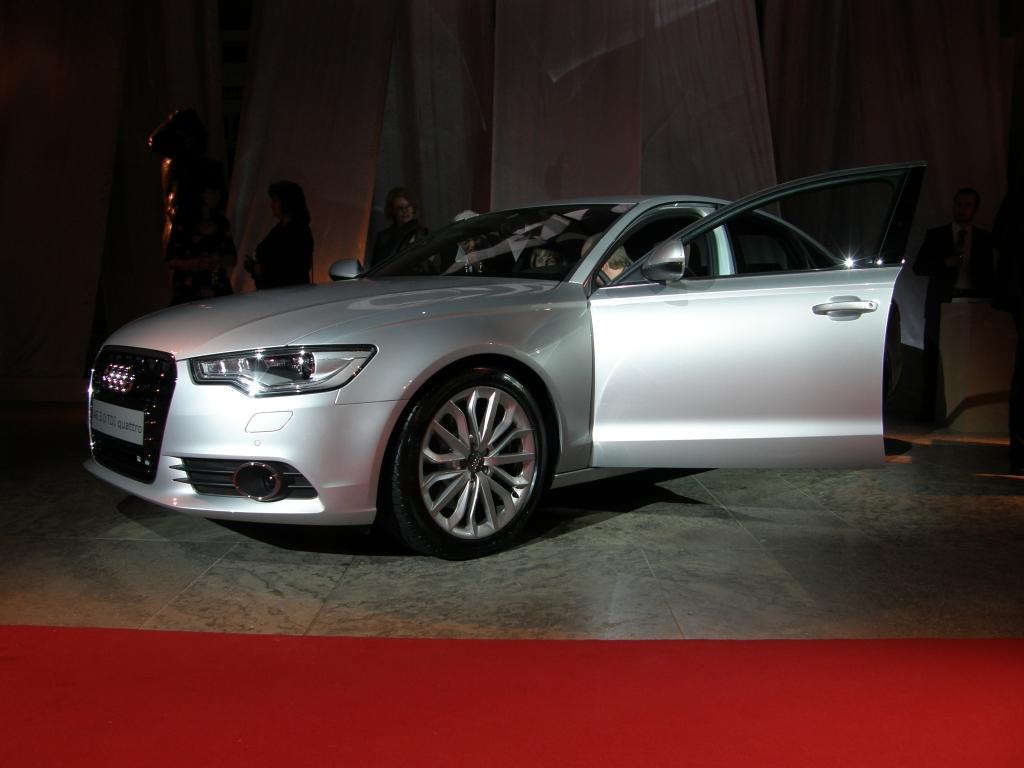 Enthüllung des neuen Audi A6 in Leipzig