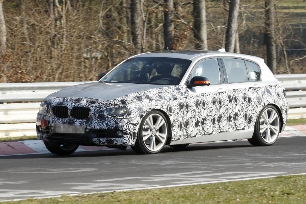Erwischt: Erlkönig BMW 1er – Neue Nummer eins