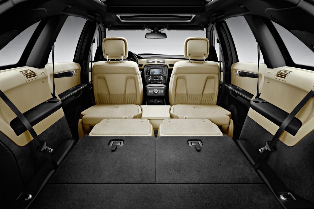 Fahrbericht Mercedes-Benz R 350 CDI 4Matic lang: Imposant