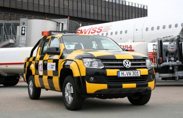 Flughafen bekommt VW Amarok