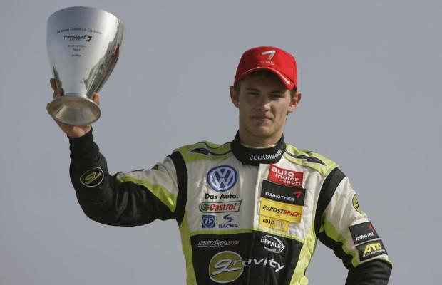 Formel-3-Euroserie: VW-Pilot Marco Wittmann zweimal auf dem Podium