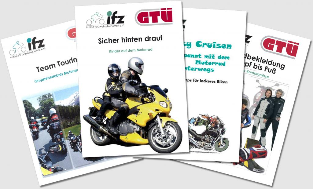 GTÜ-Broschürenreihe gibt Tipps für sicheres Biken