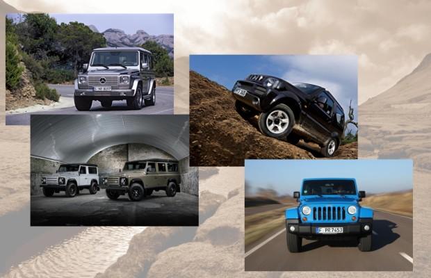 Geländewagen, die ihren Namen noch verdienen - Vier von echtem Schrot und Korn