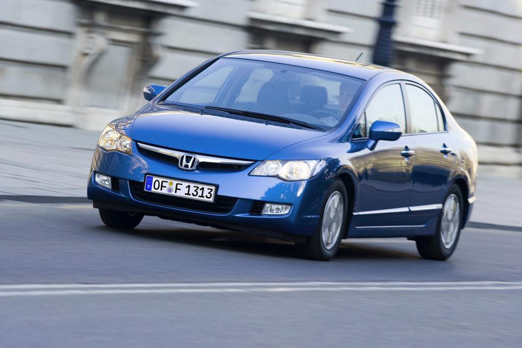 Honda Civic Hybrid: Ab in die Werkstatt
