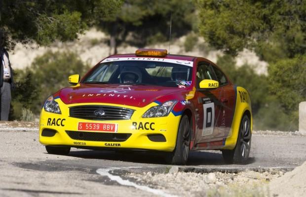 Infiniti stellt Safety Car für spanische Rallye-Meisterschaft