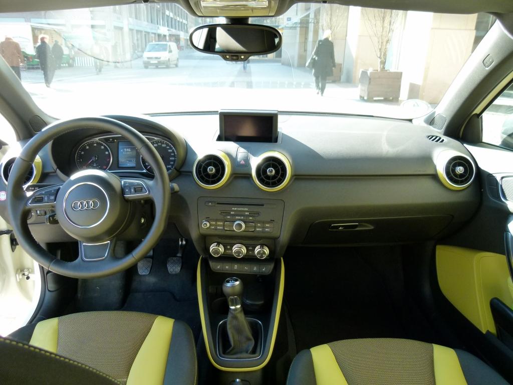 Jeder Spaß hat seinen Preis - Fahrbericht Audi A1