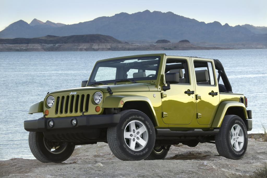 Jeep hat mit dem Wrangler ein echtes Urviech im Programm