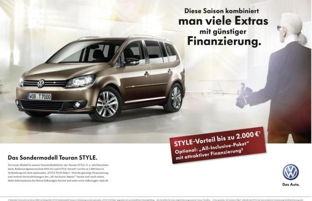 Karl Lagerfeld preist den Volkswagen Style