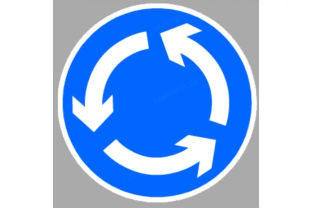 Kreisverkehre verunsichern manche Autofahrer