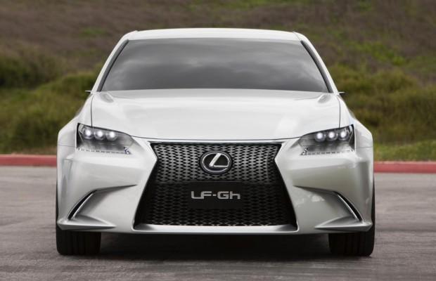 Lexus LF-Gh - Das neue Gesicht