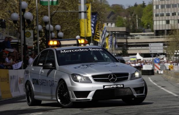 Mercedes-Benz C 63 AMG ist Safety Car der DTM-Saison 2011