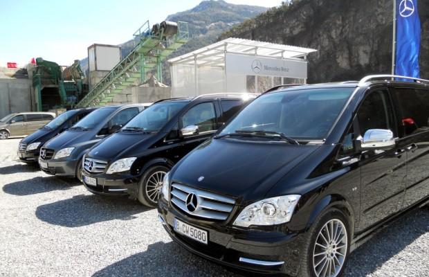Mercedes-Benz bietet Allrad-Vans für alle Fälle