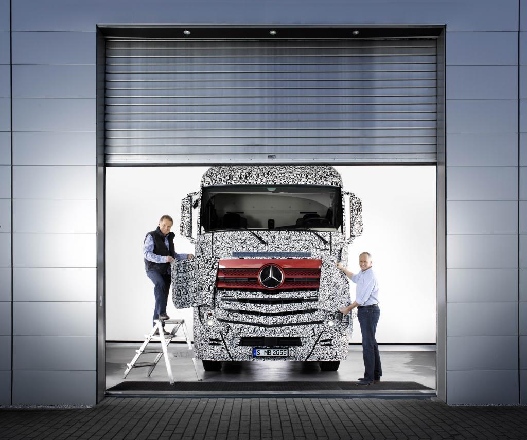 Mercedes-Benz bringt neuen Actros auf den Markt