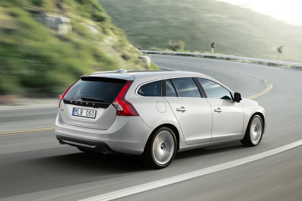 Mit dem V60 wirft Volvo einige Traditionen über Bord