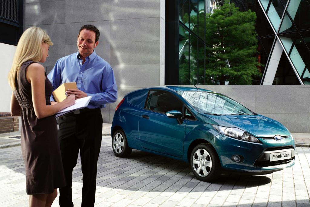 Neuauflage des Ford Fiesta Van
