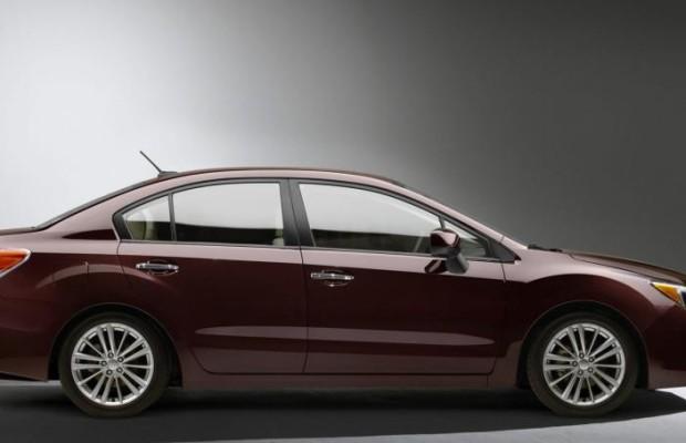 Neuer Subaru Impreza steht in New York