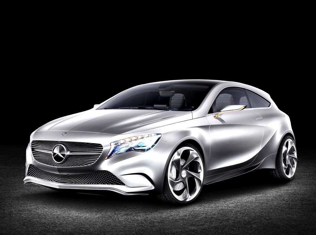 Ohne Sandwichboden: Mercedes-Studie Concept A-Class.