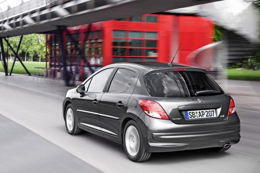 Peugeot 207 - Mehr Extras für den Filou