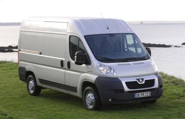 Peugeot Boxer Avantage mit kostenlosem Servicevertrag