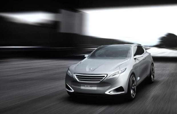 Peugeot SxC - Futuristischer China-Crossover