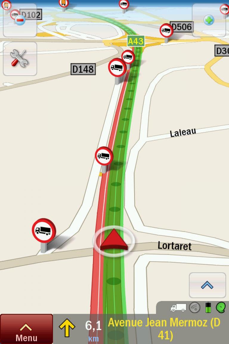 Renault Trucks-Navigation.