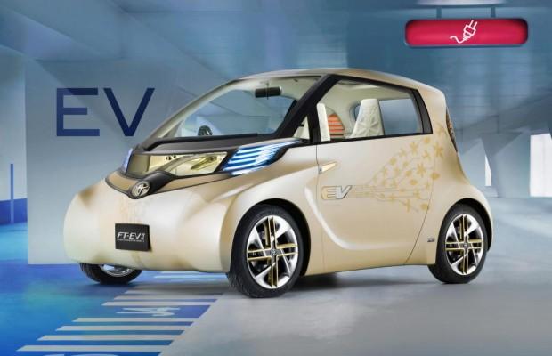Schanghai: Toyota mit Elektro-Avancen