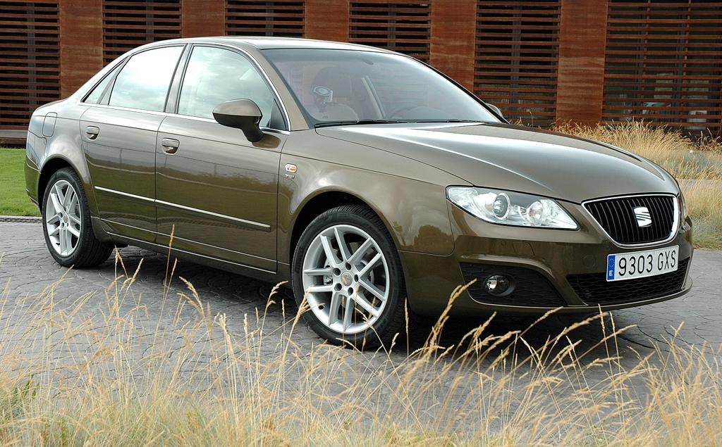 Seat aktuell: Der Exeo, hier als Limousine, baut auf Audis Vorgänger-A4 auf.